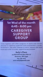 Caregiver Support Group @ Sally's Place